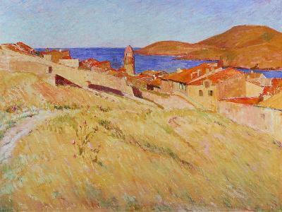 Landscape Near Collioure, 1866-1867-Georges-Daniel De Monfreid-Giclee Print