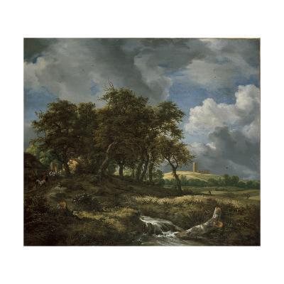Landscape Near Muiderberg, Early 1650s-Jacob van Ruisdael-Giclee Print