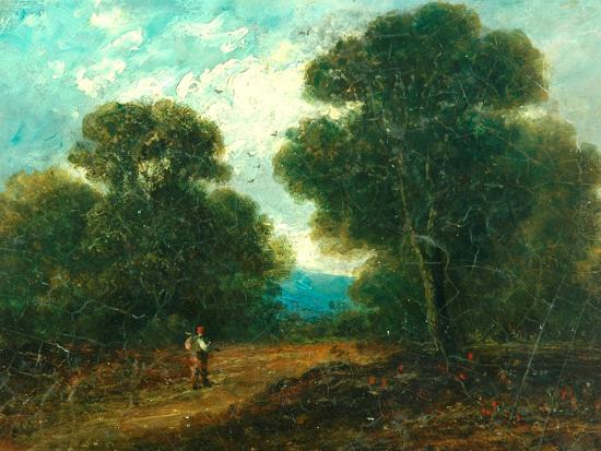 Landscape near Norwich-John Constable-Giclee Print