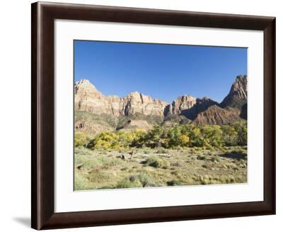 Landscape Near Zion National Park, Utah, United States of America, North America-Robert Harding-Framed Photographic Print