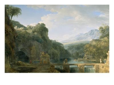 Landscape of Ancient Greece, 1786-Pierre Henri de Valenciennes-Giclee Print