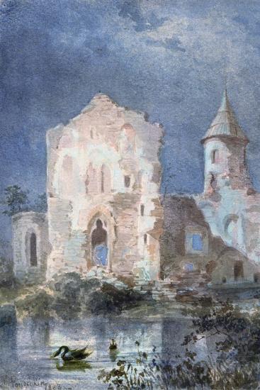 Landscape of Eygue, 1833-Alexandre Pouchkine-Giclee Print