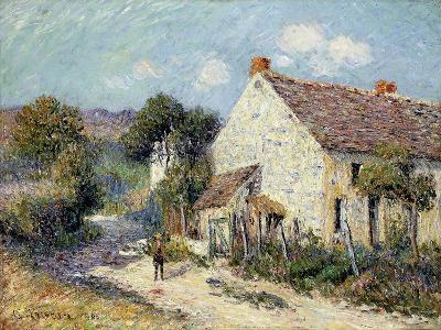 Landscape of Seine-et-Oise-Gustave Loiseau-Giclee Print