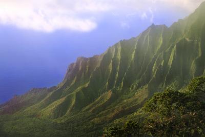 Landscape of the Na Pali Coast Kauai, Hawaii, USA-Jaynes Gallery-Photographic Print