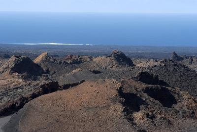 Landscape of the National Park of Timanfaya, Lanzarote, Spain-Natalie Tepper-Photographic Print