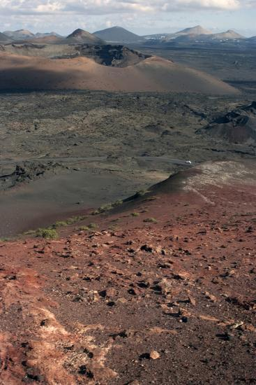 Landscape of the National Park of Timanfaya, Lanzarote, Spain-Natalie Tepper-Photo