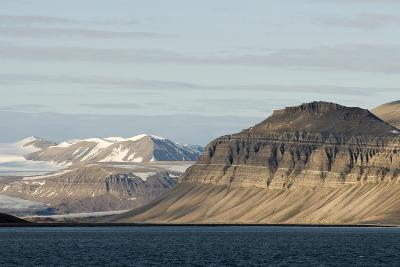 Landscape, Sassenfjorden, Spitsbergen, Svalbard, Norway-Steve Kazlowski-Photographic Print