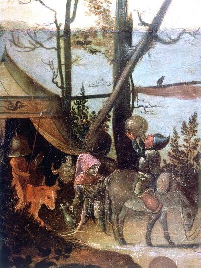 Landscape Scene, Legend of Saint Christopher, C1520-1559-Jan Mandyn-Giclee Print