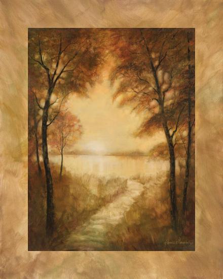 Landscape Tranquility II-Ruane Manning-Art Print