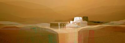 Landscape under the Hidden Moon II-Fernando Hocavar-Art Print