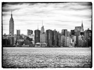 Landscape View Manhattan with the Empire State Building and Chrysler Building - New York-Philippe Hugonnard-Photographic Print