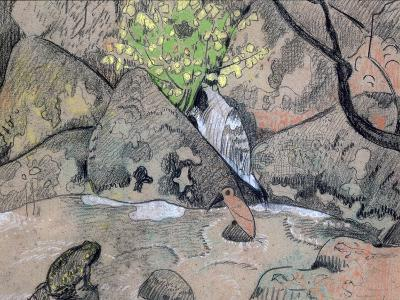 Landscape with a Bird and a Toad, C1883-1927-Paul Serusier-Giclee Print