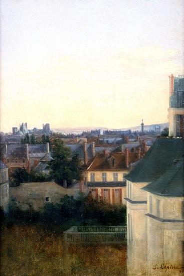 Landscape with a Bridge, C1870-Stanislas Lepine-Giclee Print