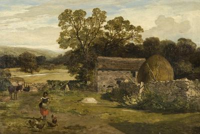 Landscape with a Farm-James Peel-Giclee Print