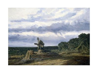 Landscape with a Mill, C1783-1843-Georges Michel-Giclee Print