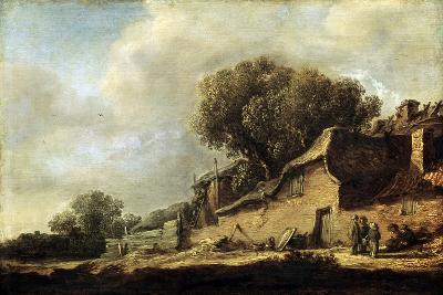 Landscape with a Peasant Cottage, 1631-Jan Van Goyen-Giclee Print