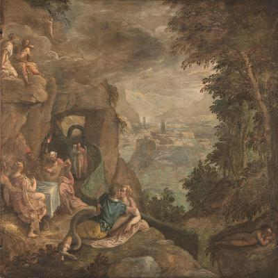 Landscape with a Scene of Enchantment, Ca 1590-Paolo Fiammingo-Giclee Print