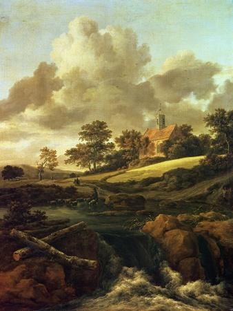 Landscape with a Stream-Jacob Le Maire and Willem Cornelisz Schouten-Giclee Print