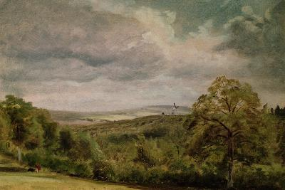 Landscape with a Windmill-Lionel Constable-Giclee Print