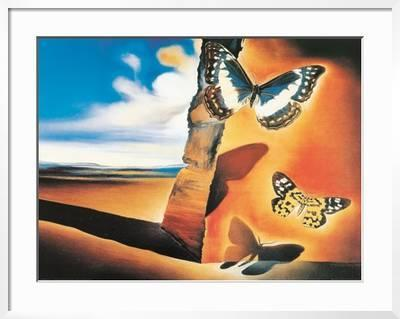 butterfly wall decor a lively addition to your life.htm landscape with butterflies  art print salvador dal   art com  landscape with butterflies  art print