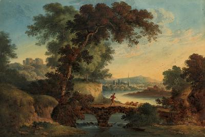 Landscape with Castle and Bridge-John Oldfield-Giclee Print