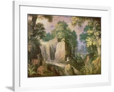 Landscape with Cliffs-Roelandt Jacobsz Savery-Framed Giclee Print