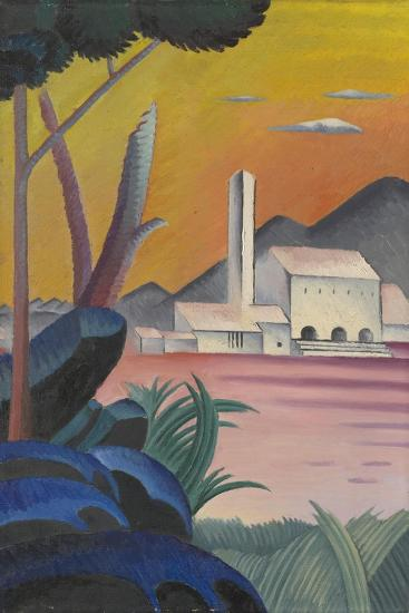 Landscape with Contrasting Tree Forms, II,-Viking Eggeling-Giclee Print