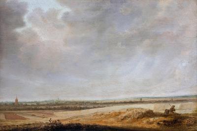 Landscape with Cornfields, 1638-Salomon van Ruisdael or Ruysdael-Giclee Print