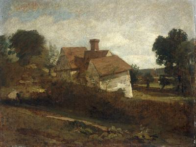 Landscape with Cottages, c.1809-John Constable-Giclee Print