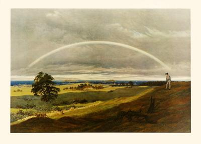 Landscape with Rainbow-Caspar David Friedrich-Collectable Print