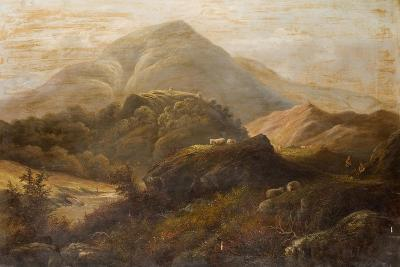 Landscape with Sheep-Anthony Graham-Giclee Print