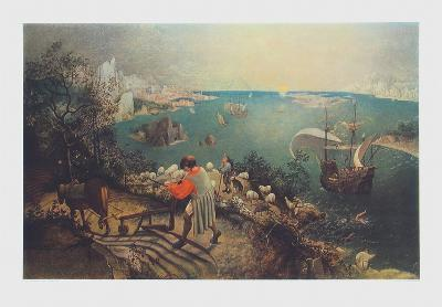 Landscape with the Fall of Ikarus-Pieter Bruegel the Elder-Collectable Print