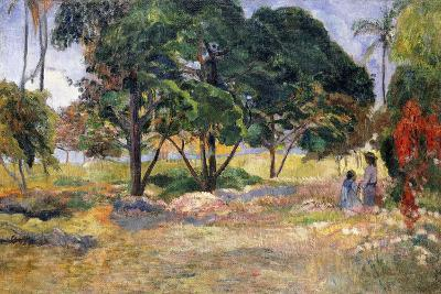 Landscape with Three Trees (Paysage Aux Trois Arbres), 1892-Paul Gauguin-Giclee Print