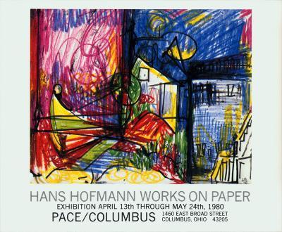 Landscape-Works on Paper-Hans Hofmann-Art Print