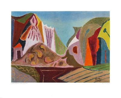 Landscape-Werner Gilles-Collectable Print