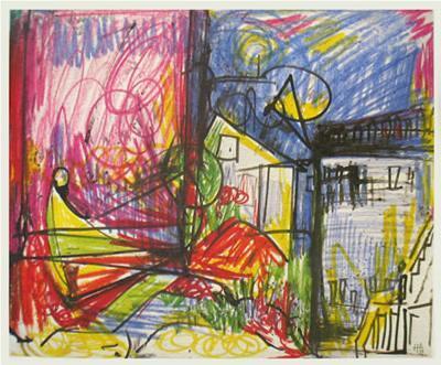 Landscape-Hans Hofmann-Art Print
