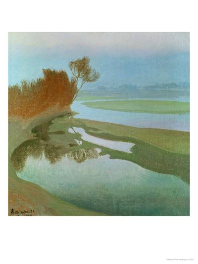 Landscape-Charles Marie Dulac-Giclee Print