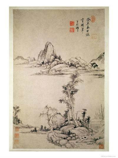 Landscape-Wang Chi-Yuan-Giclee Print