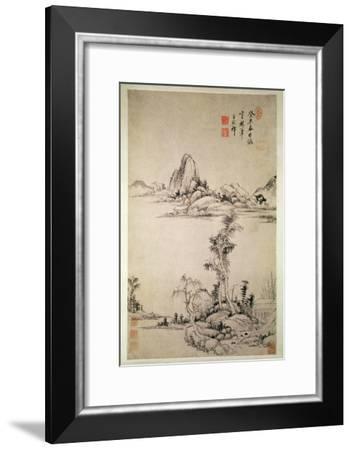 Landscape-Wang Chi-Yuan-Framed Giclee Print
