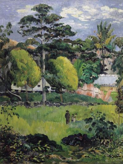 Landscape-Paul Gauguin-Art Print