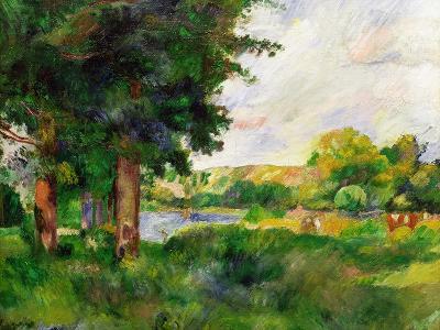 Landscape-Paul C?zanne-Giclee Print
