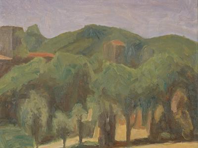 Landscape-Morandi Giorgio-Giclee Print