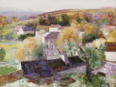 Landscape-Victor Charreton-Giclee Print