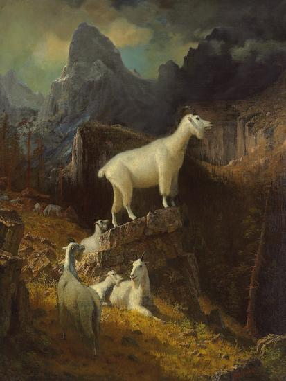 Landscape-Albert Bierstadt-Giclee Print