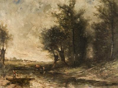 Landscape-Jean-Baptiste-Camille Corot-Giclee Print