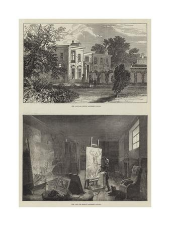 Landseer's House-Ebenezer Newman Downard-Giclee Print