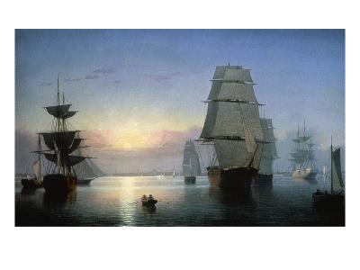 Lane: Boston Harbor-Fitz Hugh Lane-Giclee Print
