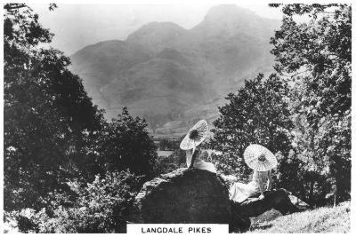 Langdale Pikes, Cumbria, 1936--Giclee Print