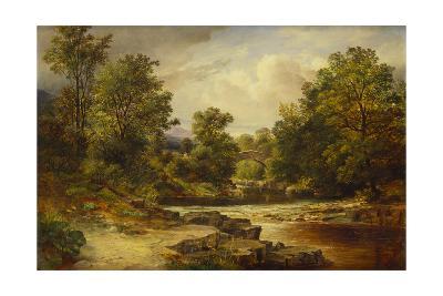 Langdale Pikes, Westmorland-George Vicat Cole-Giclee Print
