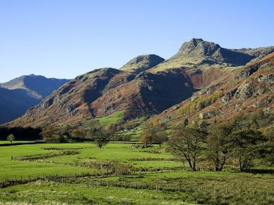Langdale Valley in the Lake District, UK-David Clapp-Photographic Print